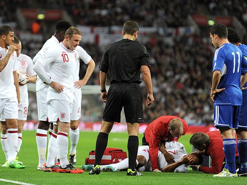 Theo Walcott: Injured against San Marino