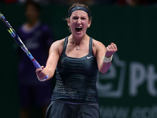 Victoria Azarenka: Headlines in Brisbane