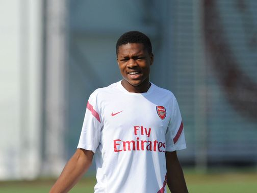 Chuba Akpom: Could get a start for Arsenal in Greece