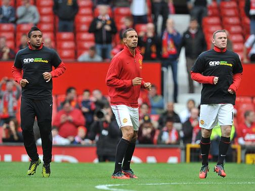 Rio Ferdinand: Refused to wear a Kick it Out T-shirt on Saturday