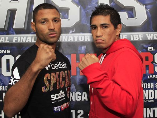 Kell Brook (left) should have little trouble