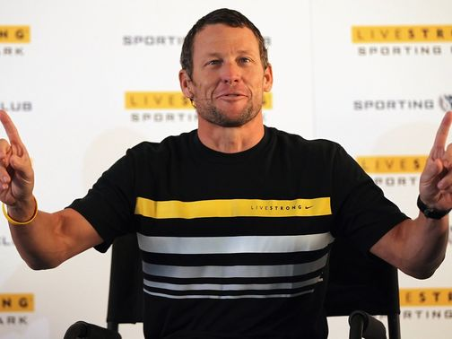 Armstrong: Dropped by Nike