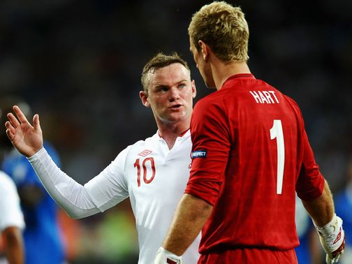 Rooney has been backed by Hart to captain England.