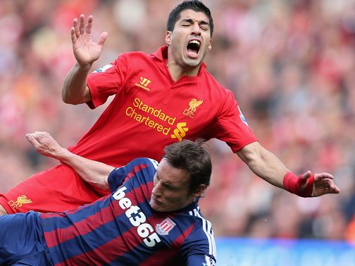 Luis Suarez: Under fire from David Moyes