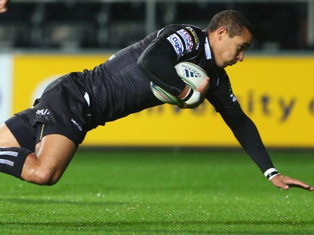 Eli Walker: Scored for Ospreys