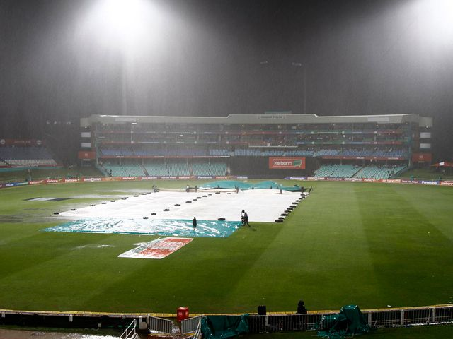 Kolkata's clash with Perth was rained off in Durban