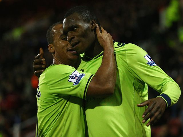 Christian Benteke was praised by his manager