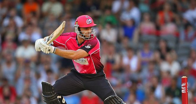 Michael Lumb: Primed for a return to Sydney Sixers