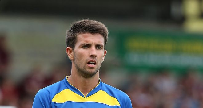 George Francomb: Keen to impress Norwich while on loan with AFC Wimbledon