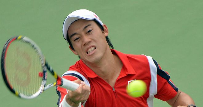 Kei Nishikori: Easily beat Wu Di in the first round of the Shanghai Masters