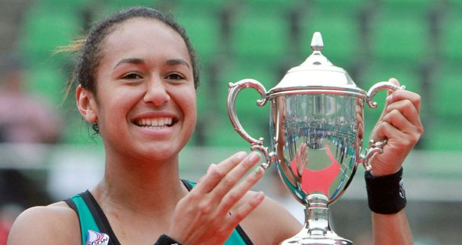 Heather Watson: First British woman since 1988 to win a WTA Tour title