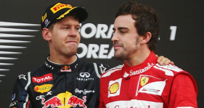 Sebastian Vettel and Fernando Alonso: The last two men standing in the title race