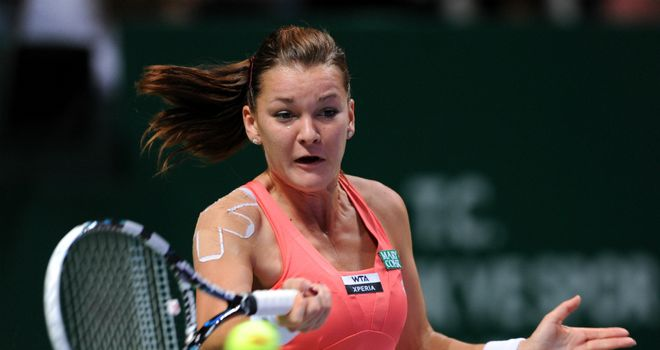 Agnieszka Radwanska: came from set down to beat Sara Errani