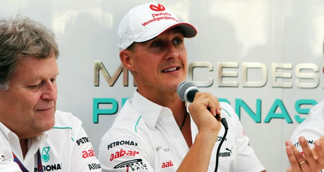 Michael Schumacher: A long-time friend of Haug's