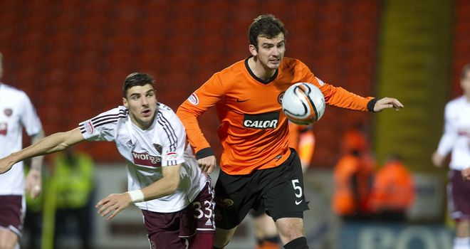 Gavin Gunning: Dundee United fear he could miss the rest of the season