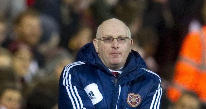 John McGlynn: Hearts boss praised spirit