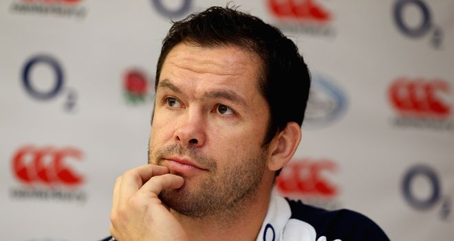 Andy Farrell: England must produce the goods against Fiji