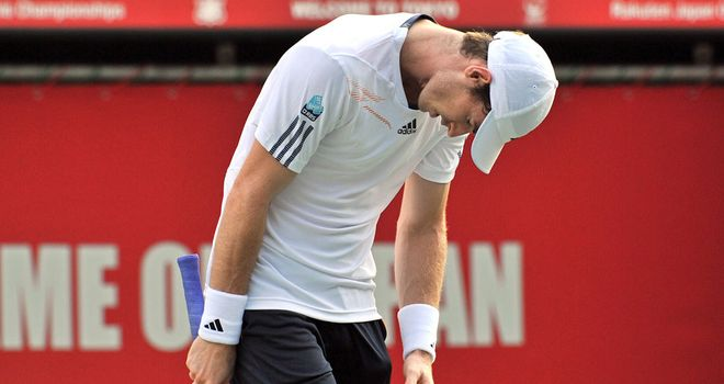 Andy Murray: Lost out in Japan semi-finals