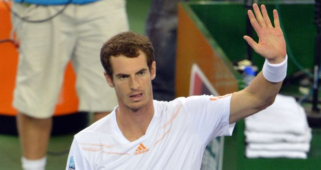 Andy Murray: into the Shanghai Masters final
