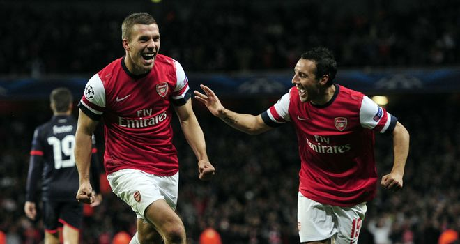 Arsene Wenger on Lukas Podolski:  'There is no room for anybody to work less or you don't exist'