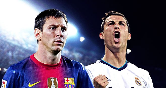 Messi & Ronaldo: Ready for derby day at Camp Nou