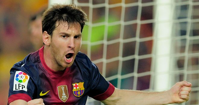 Lionel Messi: Struck a hat-trick for Barcelona in their exciting win over Deportivo