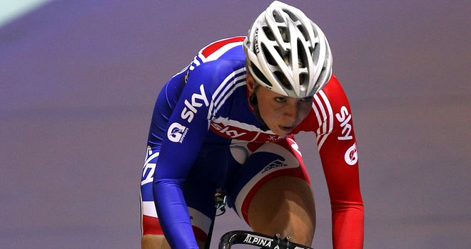 Becky James: Claimed another medal in Cali with silver in the sprint event
