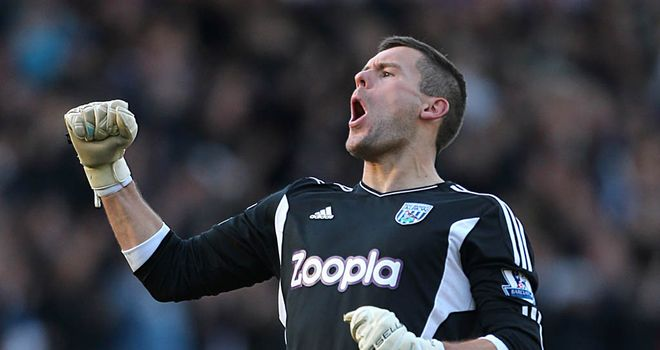 Ben Foster: West Brom goalkeeper is right up there with the world's elite, according to Steve Clarke