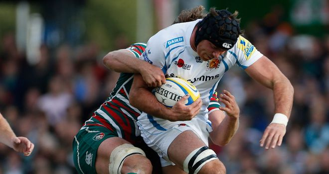 Exeter: Undaunted by facing Europe's heavyweights