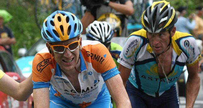 Bradley Wiggins: Finished one place behind Lance Armstrong in 2009 Tour de France