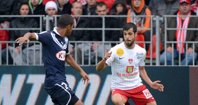 Ben Basat in action for Brest.