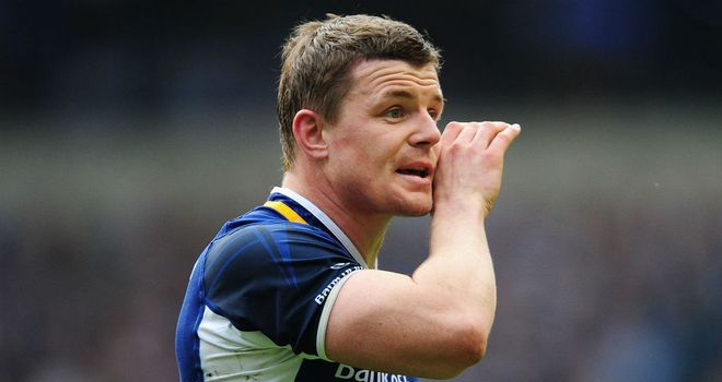 Brian O'Driscoll: Should be fit for Ireland Tests despite ankle injury