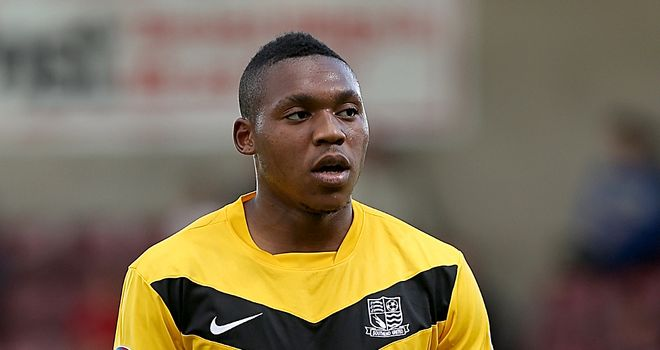 Britt Assombalonga: Denied permission to feature by his parent club