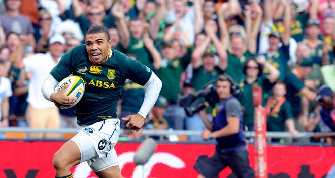 Bryan Habana: Has won the try of the year award