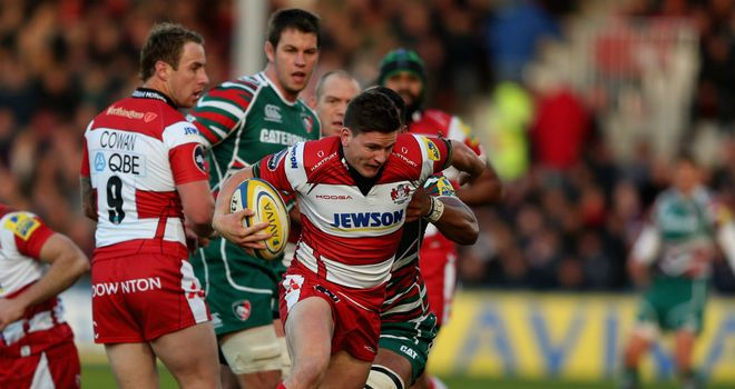 Freddie Burns: Influential display at fly-half