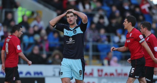 Sam Vokes: Delighted with his derby goal