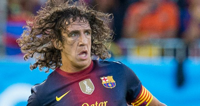 Carles Puyol: Over an elbow injury and closing on a return to full fitness