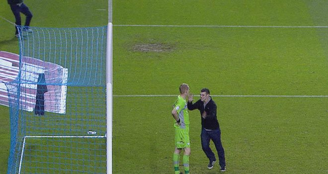 Chris Kirkland was attacked by a Leeds fan
