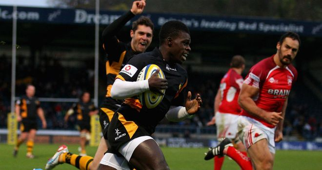 Christian Wade: Was the star of the show at Adams Park