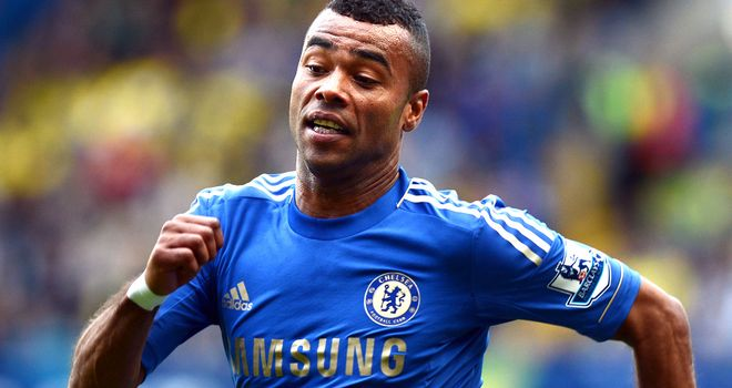 Ashley Cole: ruled out of Chelsea's game with Shakhtar Donetsk