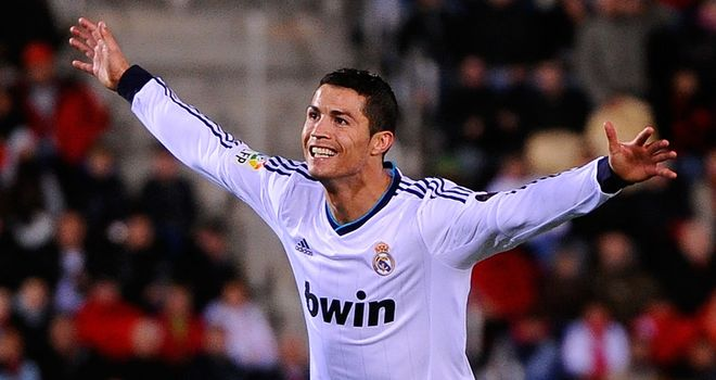 Ronaldo: 165 goals in 162 appearances for Real