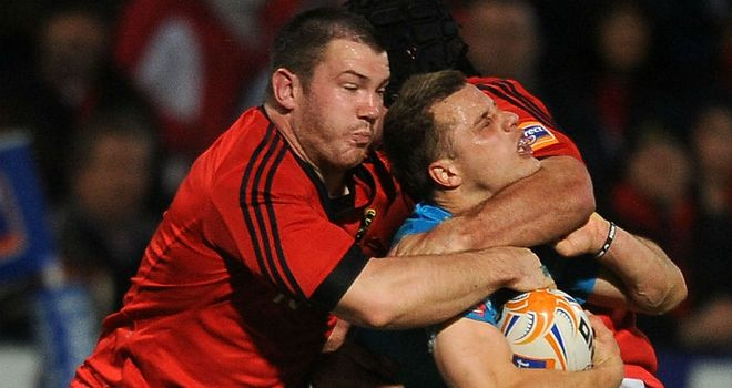 Damien Varley: Part of the Munster side that beat Australia in 2010