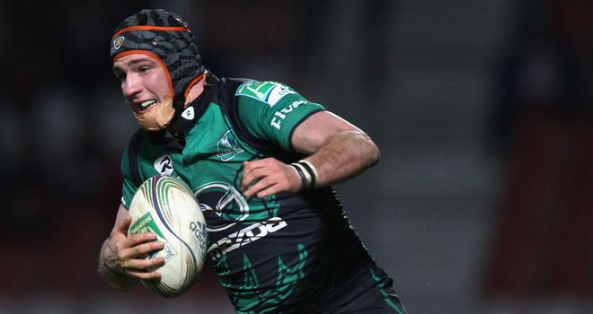 Dave McSharry: Connacht centre fit to join Ireland squad
