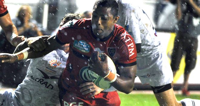 Delon Armitage is on the mark for Toulon