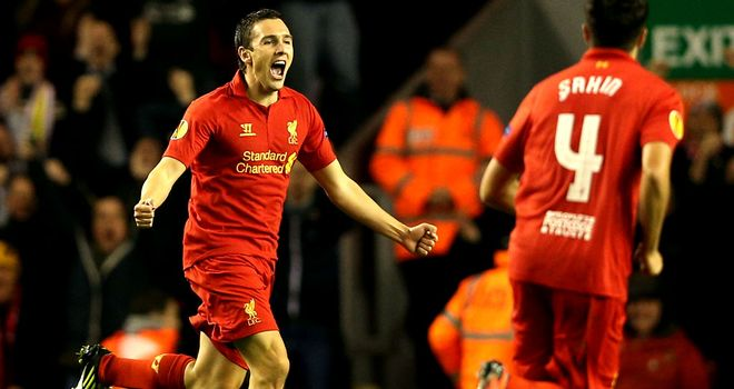 Stewart Downing: Grabbed the winner as Liverpool edged out Anzhi at Anfield