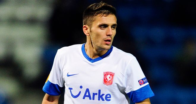 Dusan Tadic: On the scoresheet for FC Twente