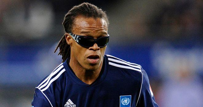 Edgar Davids: Will combine coaching and playing duties at Barnet