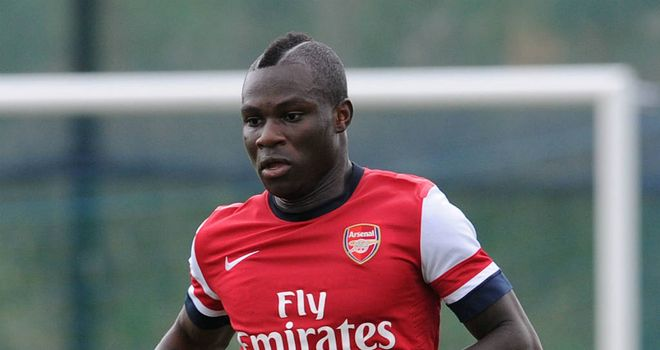Emmanuel Frimpong: Wants a loan move in order to get back to playing on a regular basis
