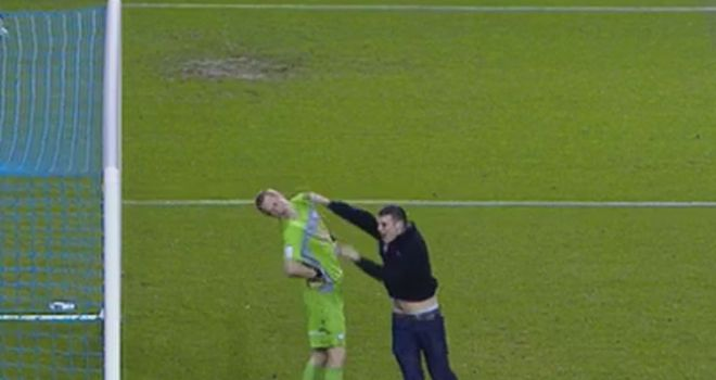 Chris Kirkland was attacked by a fan during the 1-1 draw at Hillsborough