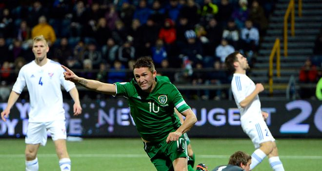 Robbie Keane: Confident following goalless draw at Sweden